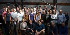 Attendees of the first Warmer Worlds workshop in Bern.